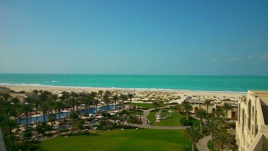 Park Hyatt Abu Dhabi Hotel & Villas : View from terrace of suite