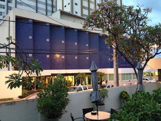 Hotel Barramares: Fachada da entrada