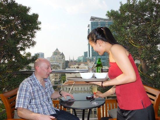 Caravelle Saigon: Juliette balcony