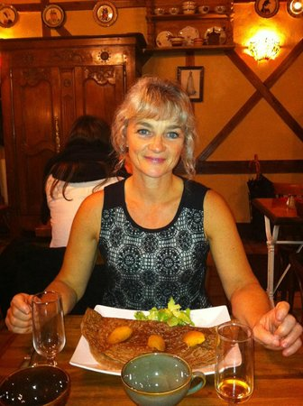 Poitiers, فرنسا: Une bretonne ravie...