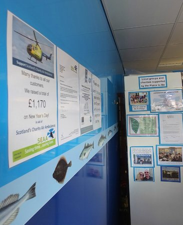 The Plaice to Be: Notices and charity work!