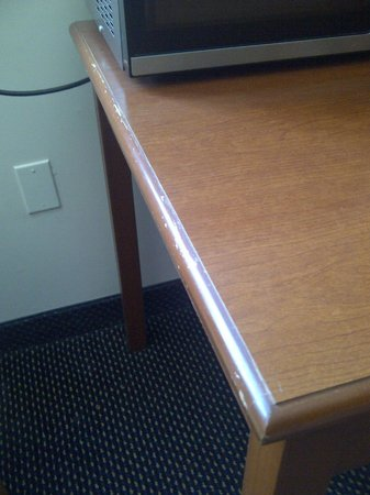 Econo Lodge Pembroke: Furniture was worn/tired but clean