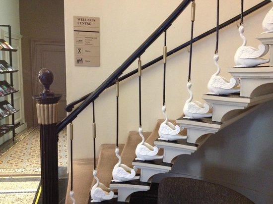 Hotel Navarra: escalier