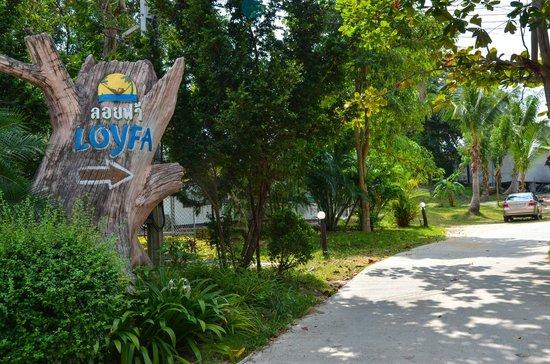Loyfa Natural Resort: Sign