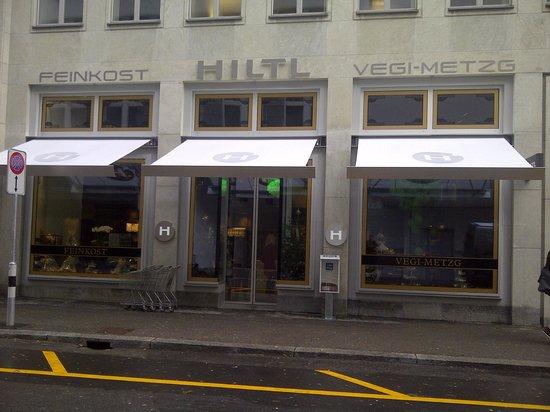 Haus Hiltl: Die neue Vegi-Metzgerei.