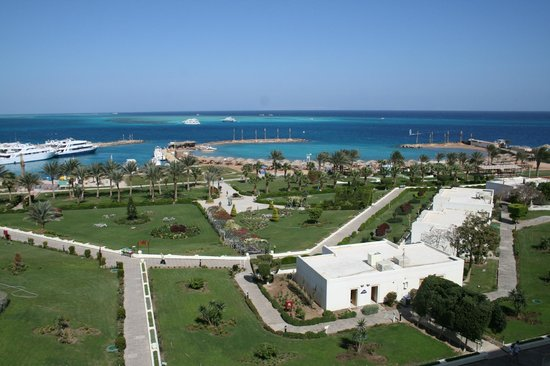 Hilton Hurghada Plaza: Beautiful Gardens