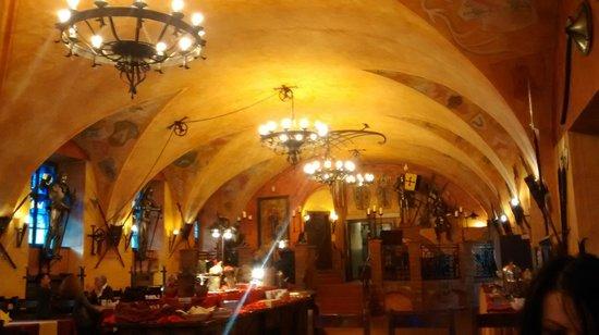 Hotel Kampa-Stara Zbrojnice : Dining room