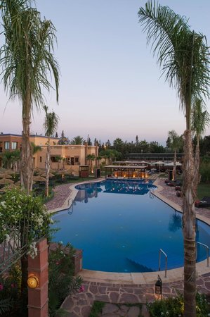 Hotel de luxe extrablatt beach palace marrakech