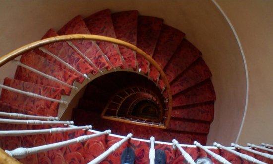 Hotel La Gioconda : escadaria