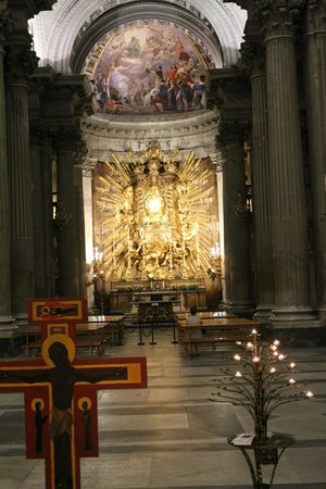 Rome by Segway: Beautiful church by Sant'Eustachio il Caffe