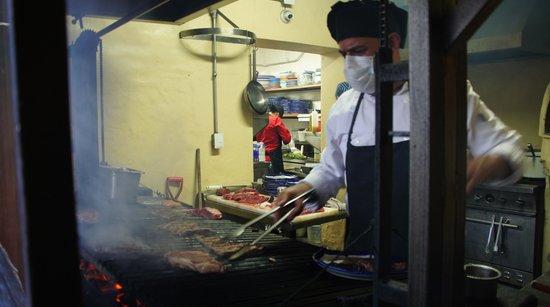 Ajijic Tango: Chef in action
