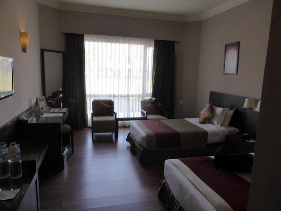 Hotel Pokhara Grande: ground floor room