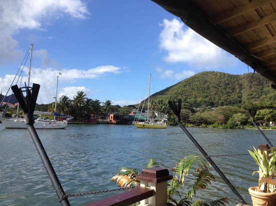 Rodney Bay: View from the edge