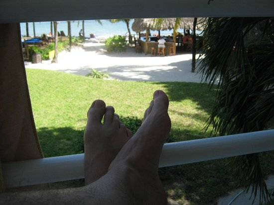 Caribbean Villas Hotel: view from our balcony