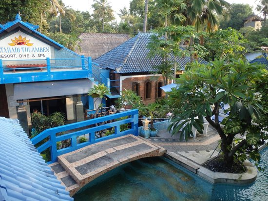 Matahari Tulamben Resort, Dive & SPA: Dive shop and spa