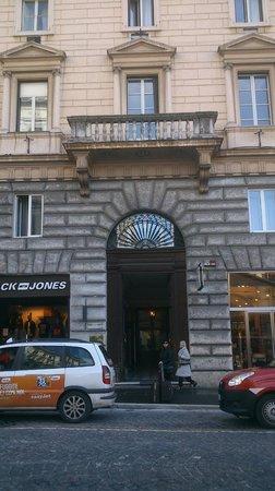 Hotel Esposizione Roma: Portal de entrada