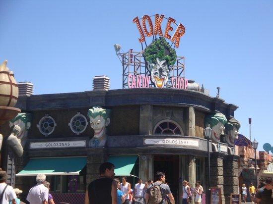 Parque Warner: Joker