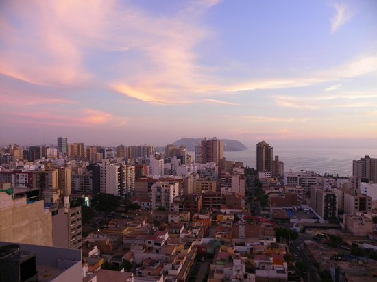 Dazzler Lima: View from the rooftop pool