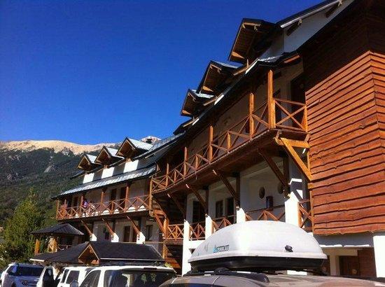 Hotel Punta Condor: Fuera del hotel