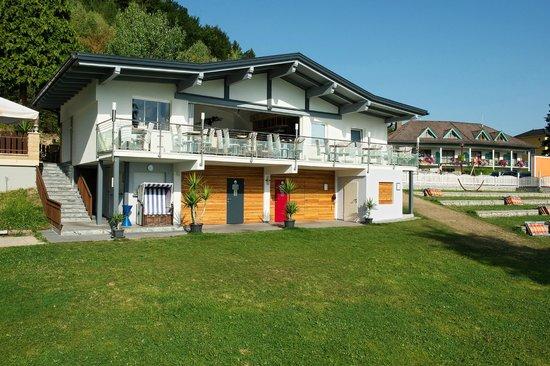 Seehotel Princes: Neu umgebautes Strand-Restaurant mit Panorama-Terrasse