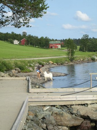 Meldal, Norge: Well-kept beach area