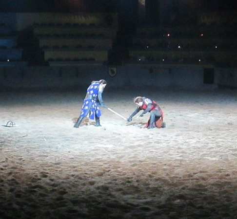 Medieval Times: Jousting and someone has to lose