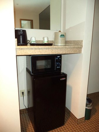 Wingate By Wyndham Charlotte Airport I-85 / I-485: microwave & fridge