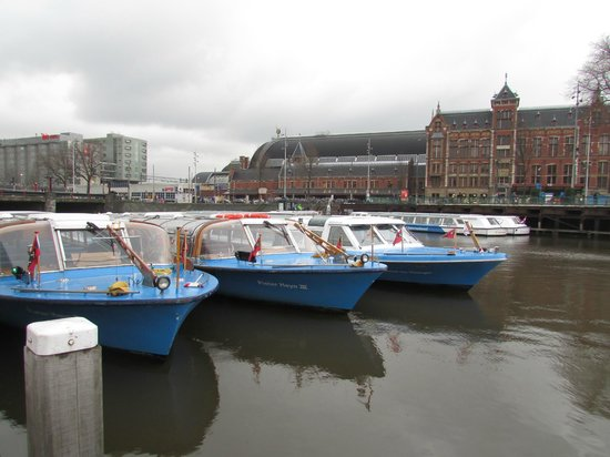 Canal Tours Amsterdam: Panorama
