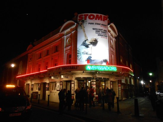 Stomp at The Ambassadors Theatre