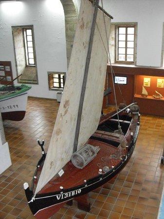 Museo do Pobo Galego: fishing boat