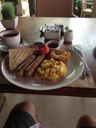 Lanai Beach Bar and Grill: Breakfast
