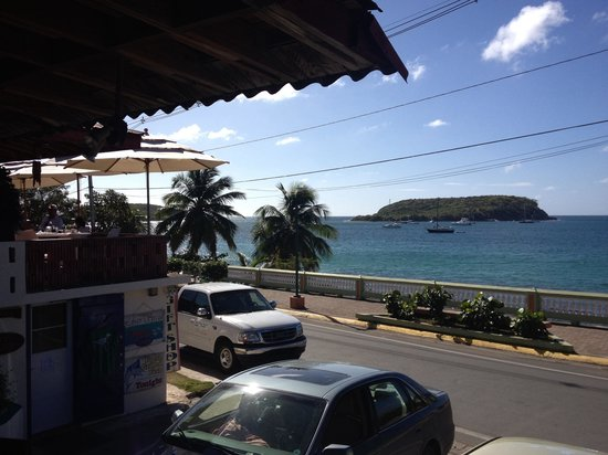 Trade Winds Guesthouse: View from restaurant