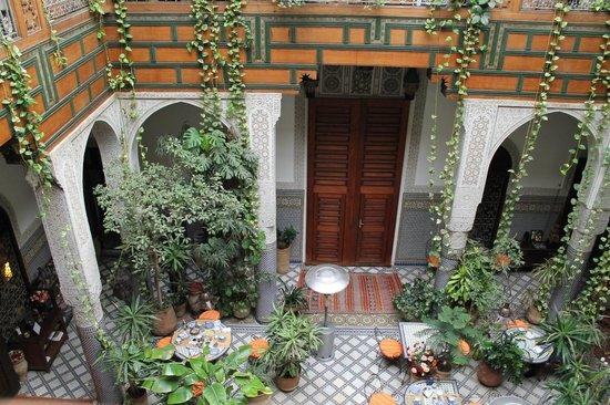 Riad Al Bartal: patio