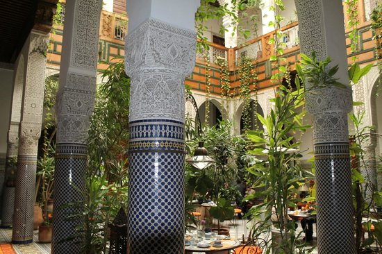 Riad Al Bartal : patio