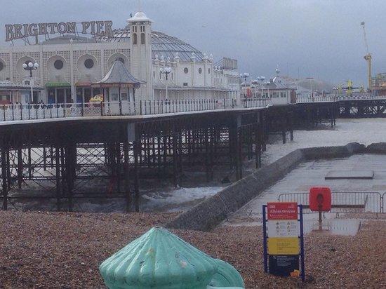 Undercliff Walk: Blustery seaside