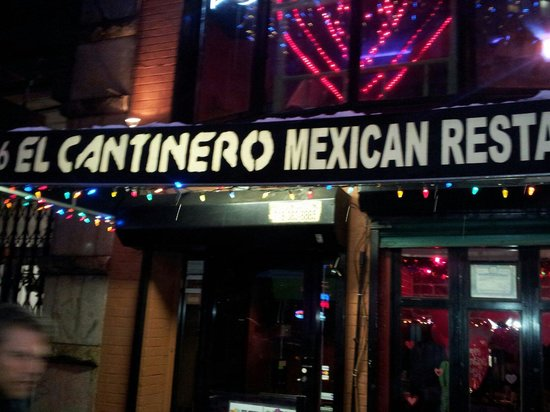 El Cantinero: Happy hours are usually nice. One snowy day I was treated like an unwanted stranger. I guess the