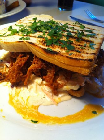 Greasy Spoon : Pulled Pork sandwich