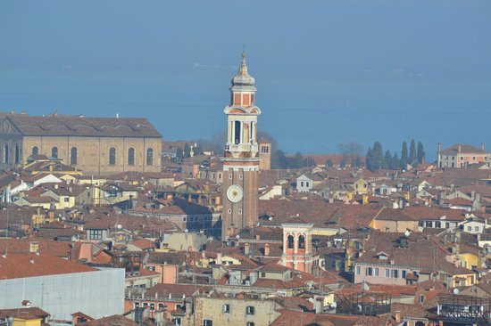Hotel Torino: View from up the Campanile - a must!
