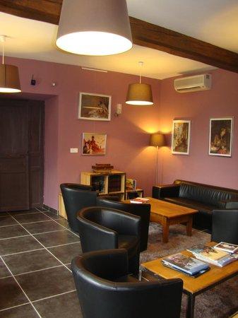 Hotel Chateau de Palaja a 5 kms de Carcassonne: Salle de lecture BD