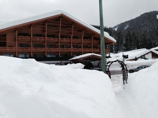 Sport & Kurhotel Bad Moos : stupendo con tutta questa neve