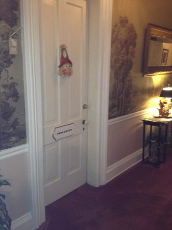 Pinehill Inn: The door to our room