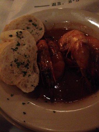 Mr. B's Bistro : BBQ Shrimp! Amazing!