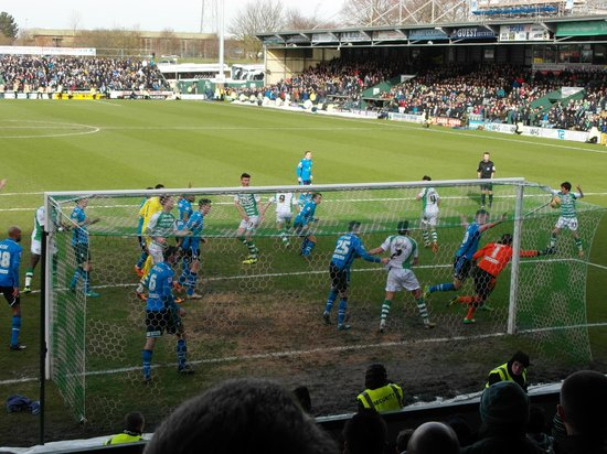The Manor: Yeovil Town