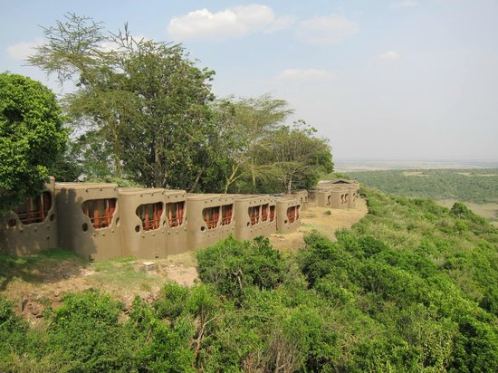 Mara Serena Safari Lodge: Picture of rooms from main lodge