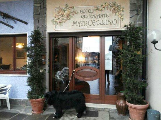 Ingresso dell'Hotel Marcellino