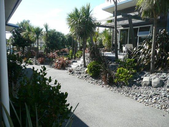 Papamoa Beach Resort: de buitenkant
