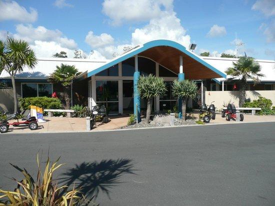 Papamoa Beach Resort : receptie