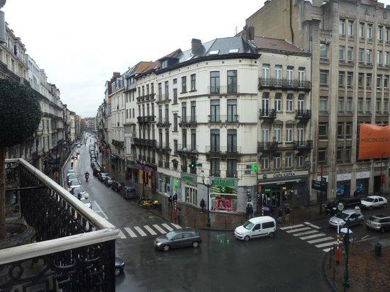 Hotel Orts: vue du balcon à gauche