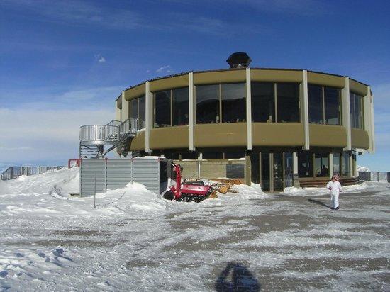 Chalet Hotel Annahof : The revolving restaurant