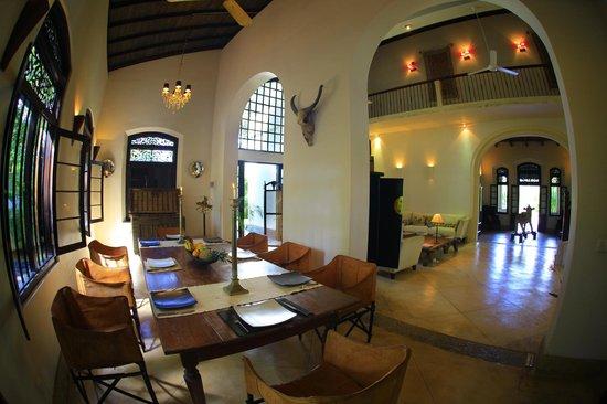 Galle Henna Estate : dining